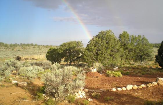 White Sage Landing Rainbow