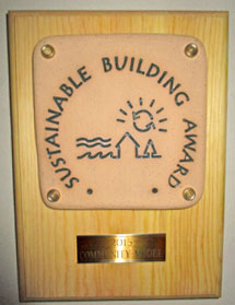 WSL Sustainable Building Award