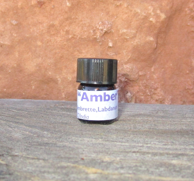 Amber Essential Oil 1.5 ml