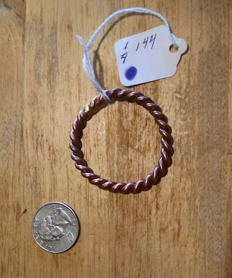Tensor Rings For Pain Relief & Much More 144 mHz Cubit